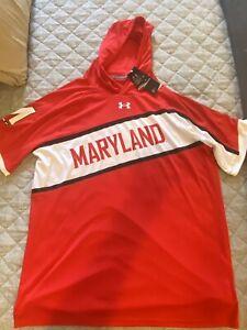 Maryland Terrapins basketball Under armour shooting shirt size Medium MSRP $80