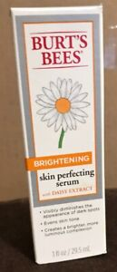 New Burts Bees Serum,Evens Skin Tone & Brightening With Daisy Extracts,1 Oz