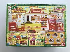 Konapun Japanese Bandai Deluxe Hamburger Soft Serve Toy Kitchen Set