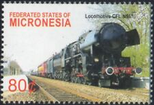 LUXEMBOURG RAILWAYS (CFL) (German DRB Class 42) #5519 2-10-0 Steam Train Stamp