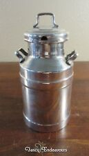 Silver Plated Milk Can Condiment? Server Sun? & #3 Marks