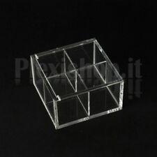 Scatola in plexiglass 9x9x5 cm