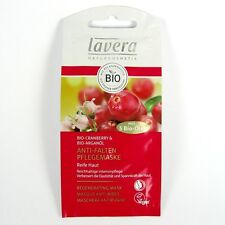 (13,90/100ml) 5x Lavera Anti Falten Pflegemaske vegan 10 ml
