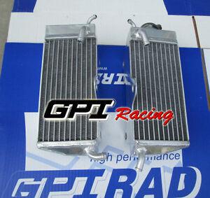 for HONDA CR125R CR125 CR 125 R 1985 1986 Aluminum Radiator