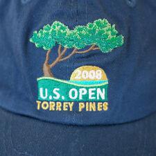 2008 US Open Torrey Pines USGA Member Golf Navy Cotton Baseball Hat One  Size Adj 5cc116076ab5