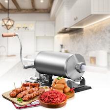 Poussoir à Saucisse Machine à Saucisses 4.8L 4xTubes (Ø17mm,21mm,25mm,29mm)