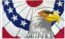 """New listing """"Patriotic Eagle"""" 3x5 ft flag polyester usa"""