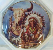 "Franklin Mint ""Sioux Chief"" Ltd Edition Plate"