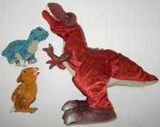 Kota & Pals Monty T-Rex Pterodactyl Brontosaurus Lot 3 Interactive Hasbro Kp