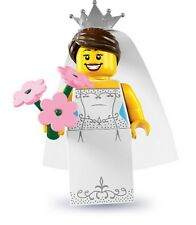 Lego minifig series 7 Bride wedding dress gown shoes 8