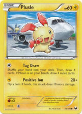 Plusle Common Pokemon Card BW5 Dark Explorers 39/108