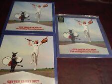 ROLLING STONES GET YER YA YA'S OUT 90'S+2003 USA BLACK VINYL+CLEAR 180G 3 LP SET