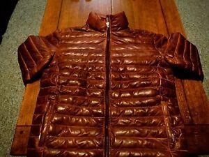 Buffalo Jackson Trading Company Leather Down Jacket