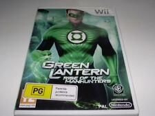 The Green Lantern Nintendo Wii PAL *No Manual* Wii U Compatible