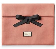 Gucci Guilty Love Edition Peach Pink Large Makeup Pouch Cosmetic Travel Case Bag