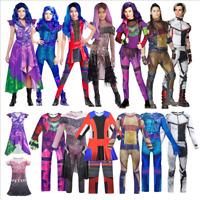 Descendants 3 Cosplay Costume Jumpsuit Bodysuit Kids Party Fancy Dress Outfit