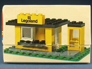 LEGO 608 - Kiosk mit Telefonzelle - in OVP / Legoland Box - 1971