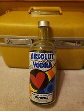 Absolut Vodka - Romero Britto Limited Edition Bottle 2003 Rare 750 ml - Empty