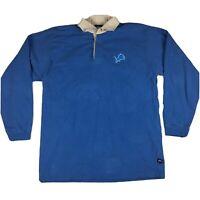 Vintage 90/'s DETROIT LIONS Men/'s XL Embroidered Crewneck Sweatshirt Rare made by Pro Player