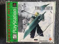 Final Fantasy VII 7 Complete Playstation 1 PS1 Game CIB FFVII FF7 GOOD