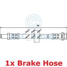 APEC BRAKING 310mm Scheibe Bremssattel flexibel GUMMISCHLAUCH hos3202