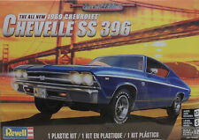1969 CHEVROLET CHEVELLE SS396 REVELL 1:25 SCALE PLASTIC MODEL CAR KIT
