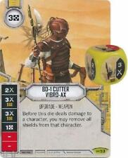 BD-1 Cutter Vibro-AX	 - 	Rare	 - 	Empire at War	-53 STAR WARS Destiny NM W/ DICE