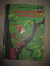 Robin Hood Wins Again, Walt Disney / Random House HC, Book Club Edition, 1983