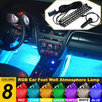 1pcs Car Multicolor LED Lighting Decor Lamps Light For Maserati Interior Lights