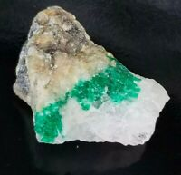 Natural Emerald Specimen from Sawat Pakistan, Rare Collector item, US Seller