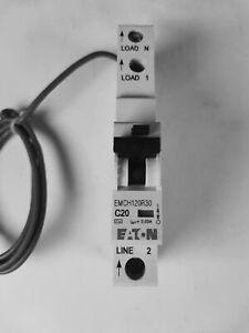 Eaton Memshield 20 Amp Type C RCBO Circuit Breaker MCB ETN EMCH120R30 30mA