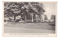 Niagara Falls Lodge Canada Mrs Potts Dahlia Dell Rooms Historic Guest House