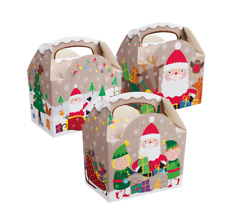 NEW  CHRISTMAS NEW STYLE THEME TREAT BOXES  (12)