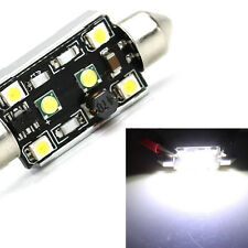 1PCs Canbus 2 CREE 4 LED 42MM 15W 3528  Festoon License Plate Light Bulbs Chic
