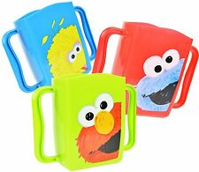 3 Sesame Street PlasticJuice Box Holders -  Elmo, Cookie Monster, Big Bird