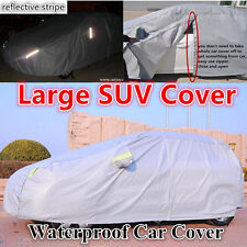 Large SUV Car Cover 4x4 4WD Sun UV Protection Audi Q7 BMW X5 BMW X6 VW Touareg