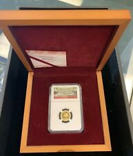 2014 China 1/10 oz Gold Panda ~ NGC PF70 UC ~ Tian Tian ~ Smithsonian Institute