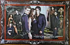 SDCC EXCLUSIVE VAMPIRE DIARIES CAST SIGNED x2 POSTER WB C2E2 SAN DIEGO COMIC-CON