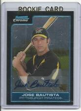 2006 Bowman Chrome Jose Bautista Auto Rookie Card RC #BC242 Mint