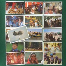 Lotto 16 Cartoline Cards - GUIDE E SCOUT SCOUTS , AGESCI Egitto Marocco Bharat