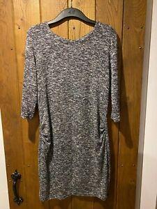 Grey New Look Maternity Dress Size 12