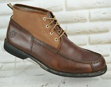 TIMBERLAND Mens Brown Leather Outdoor Ankle Boots Shoes Size 10.5 UK 45 EU