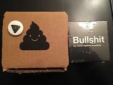 Cards Against Humanity Black Friday Bullshit Box 2014 With Pin sealed