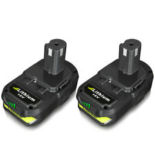 2Pack New Battery For Ryobi ONE+P102 P108 Plus 18 Volt Li-Ion Compact Battery