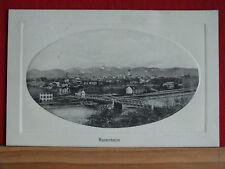 Fotokarte - Rosenheim - Brücke über den Inn - gel ca 1910 - sehr schön !   m1
