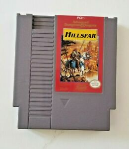 Advanced Dungeons & Dragons Hillsfar AD&D (Nintendo, NES)