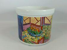 D Burrows Matisse  Chaleur Masters Collection Interior Planter Pot Rare HTF