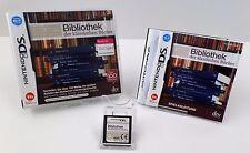 Bibliothek der klassischen Bücher  + Anleitung + OVP - Nintendo DS