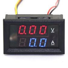 DC Voltmeter Blue Red LED Dispaly Voltage Current Measure Digital Voltmeter
