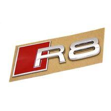 Original Audi R8 Schriftzug hinten Exterieur Emblem Heckklappe Logo chrom OEM
